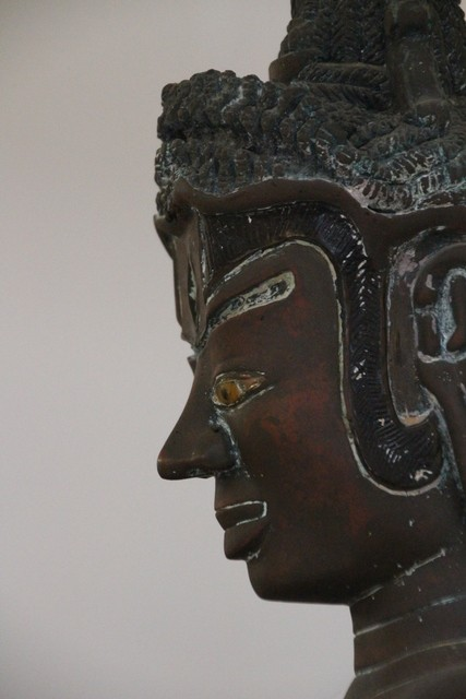 Detalle de bodhisattva Tara