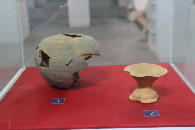 Restos de cerámica Cham.