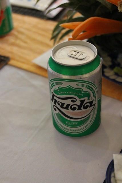 Huda es la cerveza de la región.