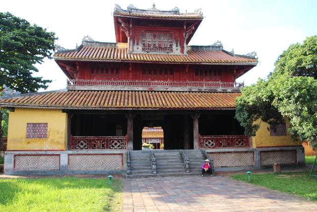 Templo Mieu dentro de la Ciudadela.