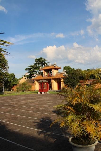 La campana del templo The Mieu.