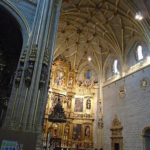 Interior Catedral Nueva de Plasencia.