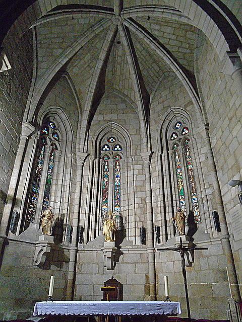 Detalle de la bóveda de la iglesia de San Nicolás.