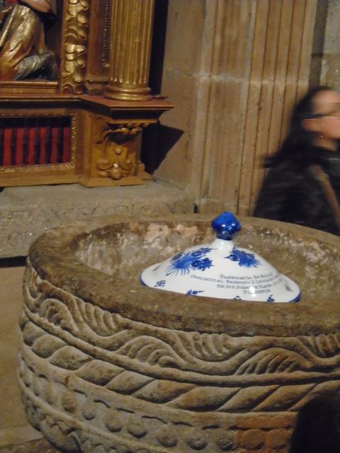 Pila bautismal siglo XIII.