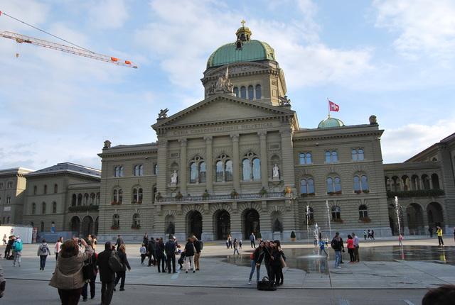 Palacio federal de Berna.