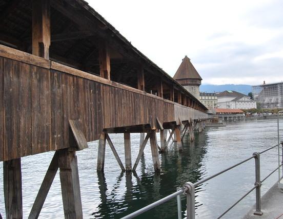 Puente de la Capilla. Lucerna.