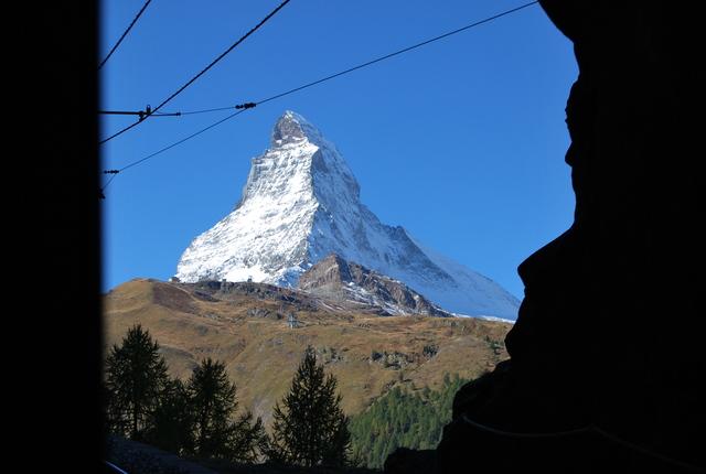 Monte Cervino, también llamado Matterhorn.