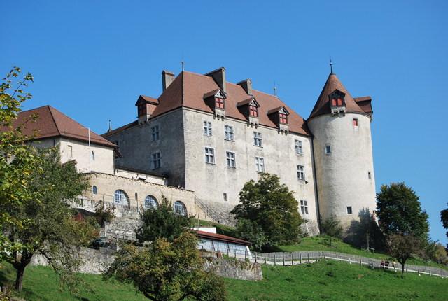 Castillo de Gruyéres.