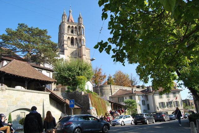 Catedral de Lausana, Suiza.