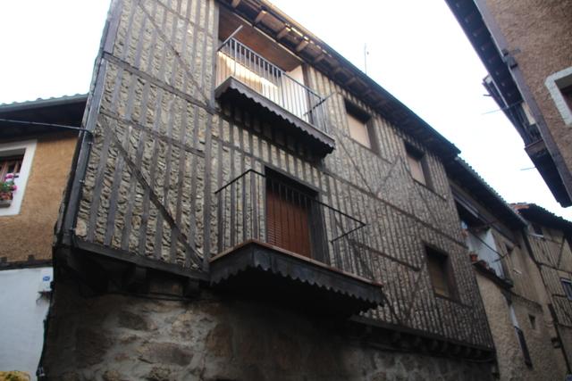 Construcción típica de La Alberca.