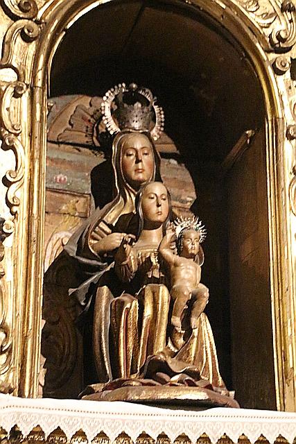Virgen de las majadas, del siglo XI.