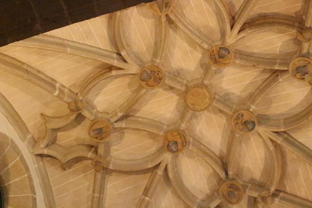Detalle del techo el Parador.