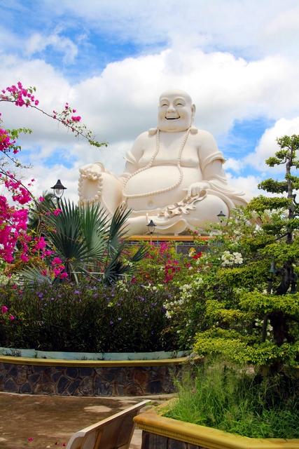 La otra gran estatua de Buda.