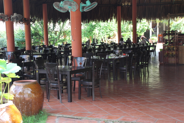 Mesas del restaurante.