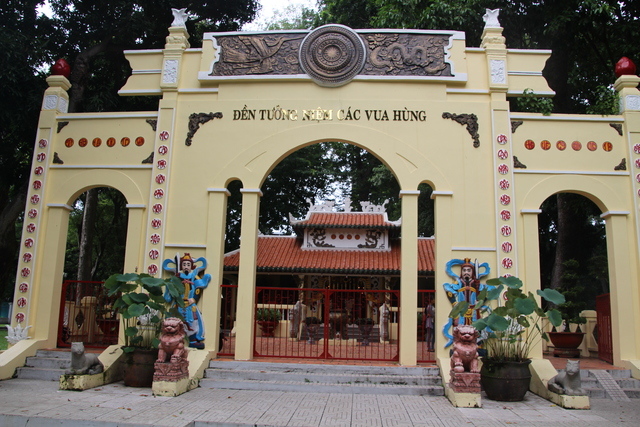 Monumento a los reyes Hung.
