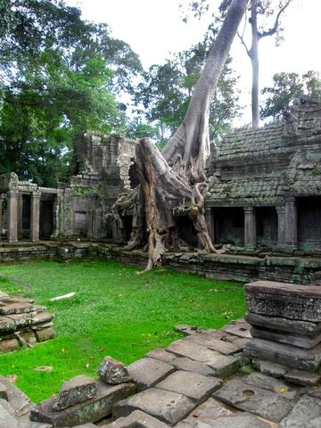 Interior el templo.